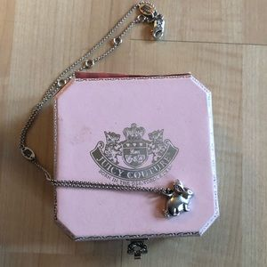 Juicy Couture bunny necklace